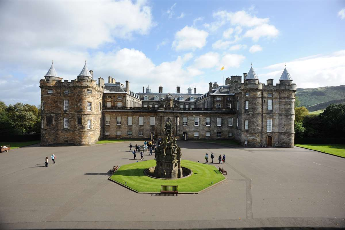 Image result for holyrood palace